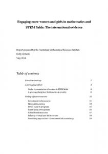 RobertsGenderSTEMreport2014