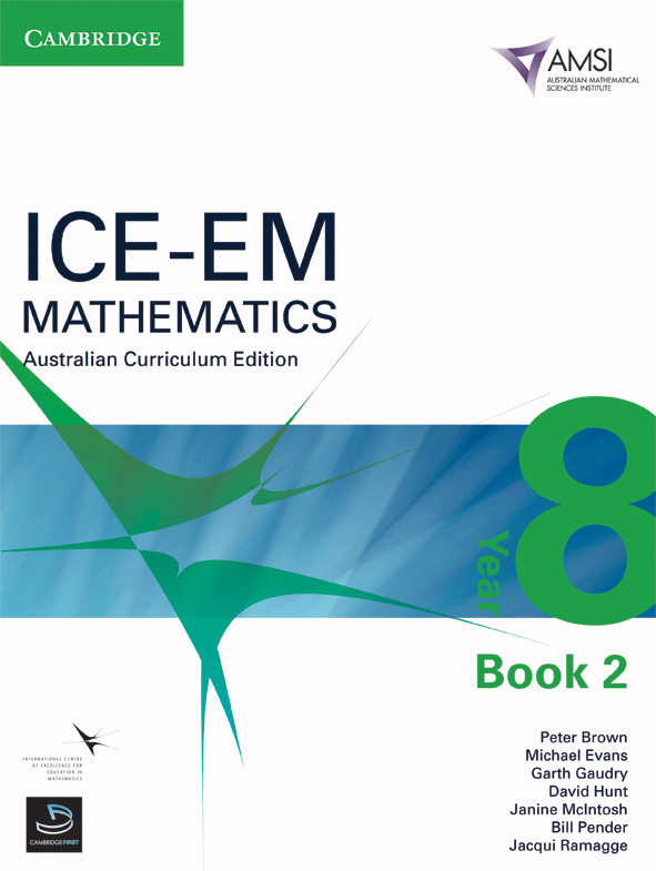 ICE-EM Mathematics Australian Curriculum Edition Year 8 Book 2 - AMSI