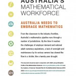 Securing Australia's mathematical workforce