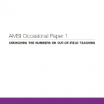 Occasional paper 1 cover