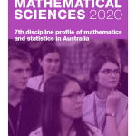 Report cover: The State of Mathematical Sciences 2020: 7th discipline profile of mathematics and statistics in Australia